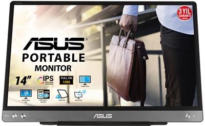"En ucuz Asus 14"" ZenScreen MB14AC 5ms USB Type-C Monitör Fiyatı"