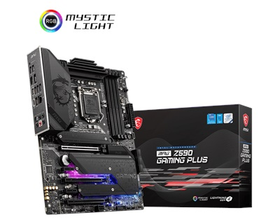 MSI MPG Z590 Gaming Plus 5333mhz(OC) RGB M.2 1200p ATX Anakart