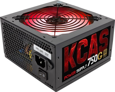 Aerocool 750W KCAS Serisi 750G RGB 80+ Gold  Güç Kaynağı