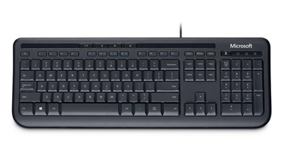 Microsoft 600 Türkçe Q  USB Klavye