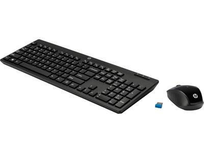 HP Z3Q63AA Türkçe Q Siyah Kablosuz Klavye - Mouse Set