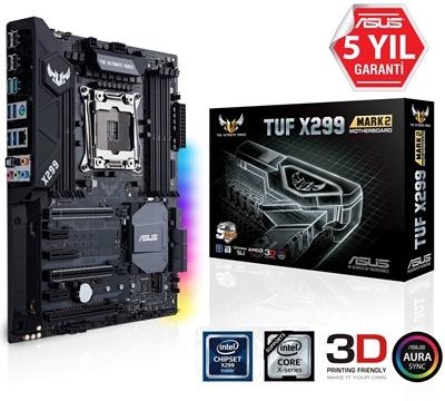 En ucuz Asus TUF X299 Mark 2 4133mhz(OC) RGB M.2 2066p ATX Anakart Fiyatı