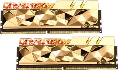 G.Skill 32GB(2x16) Trident Z Royal Elite Gold 3600mhz CL14 DDR4  Ram (F4-3600C14D-32GTEGA)