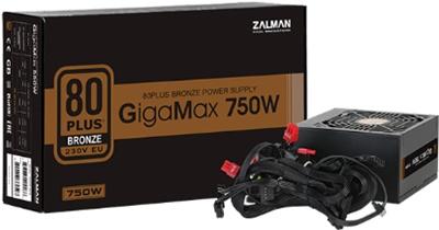 Zalman 750W ZM750-GVII GigaMax 80+ Bronze  Güç Kaynağı