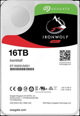 Seagate 16TB IronWolf 256MB 7200rpm (ST16000VN001) NAS Diski