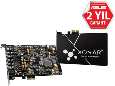 Asus Xonar AE 7.1 Kanal PCI Express Gaming Ses Kartı