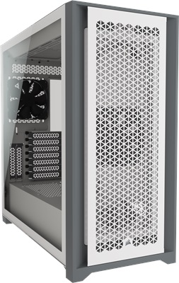 Corsair 5000D Airflow Tempered Glass Beyaz USB 3.0 ATX Mid Tower Kasa