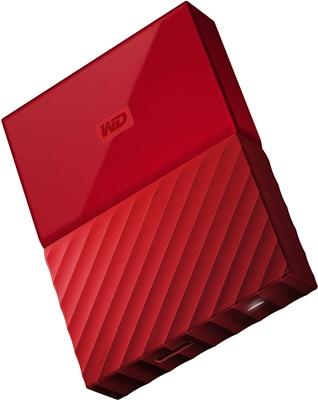 WD 2TB My Passport Kırmızı USB 3.0 2.5 (WDBS4B0020BRD) Taşınabilir Disk