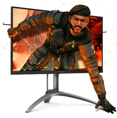 "En ucuz Aoc 27"" AG273QX 1ms 165hz HDMI,DisplayPort FreeSync 2K Gaming Monitör Fiyatı"