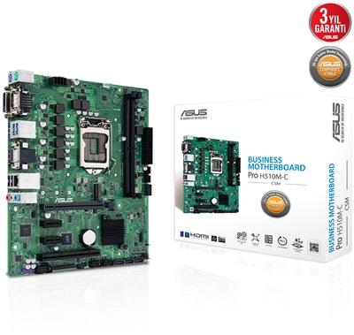 Asus PRO H510M-C/CSM 2933mhz(OC) M.2 1200p mATX Anakart