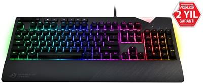 Asus Rog Strix Flare Cherry MX Red Switch Mekanik RGB Gaming Klavye