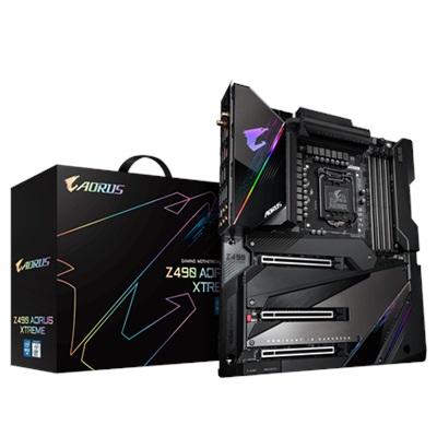 En ucuz Gigabyte Z490 Aorus XTREME 5000mhz(OC) RGB M.2 Wi-Fi 1200p e-ATX Anakart Fiyatı