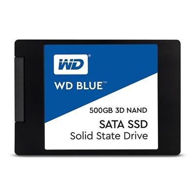 WD 500GB Blue 3D NAND Okuma 560MB-Yazma 530MB SATA SSD (WDS500G2B0A)