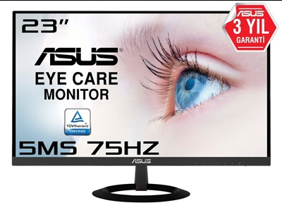 """En ucuz Asus 23"""" VZ239HE 5ms 75hz D-Sub,HDMI IPS Monitör Fiyatı"""