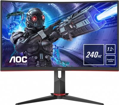 "Aoc 32"" C32G2ZE 0.5ms 240hz HDMI,DisplayPort FreeSync Curved Gaming Monitör"