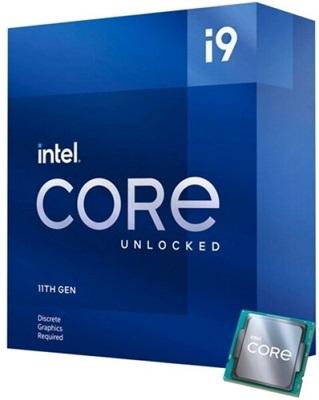 Intel Core i9 11900KF 3.50 Ghz 8 Çekirdek 16MB 1200p 14nm İşlemci