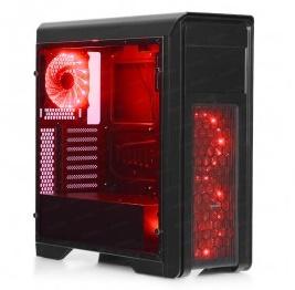 En ucuz Dark N10 PRO R Kırmızı Led Fan USB 3.0 ATX Mid Tower Kasa  Fiyatı