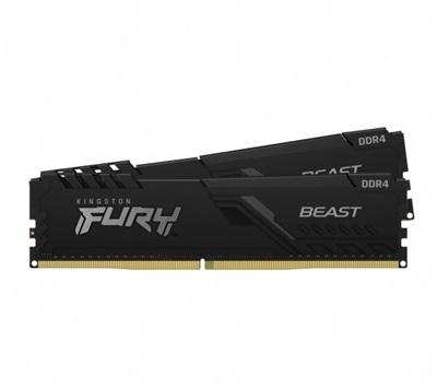 Kingston 32GB(2x16) Fury Beast 3200mhz CL16 DDR4  Ram (KF432C16BBK2/32)
