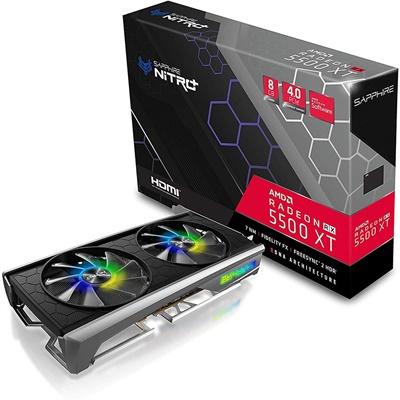 En ucuz Sapphire Radeon RX5500XT Nitro+ Special Edition 8GB GDDR6 128 Bit Ekran Kartı Fiyatı