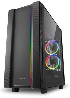 Sharkoon REV220 Tempered Glass RGB USB 3.0 ATX Mid Tower Kasa