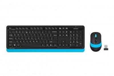 En ucuz A4 Tech FG1010 Mavi Türkçe Q  Kablosuz Klavye + Mouse Set Fiyatı