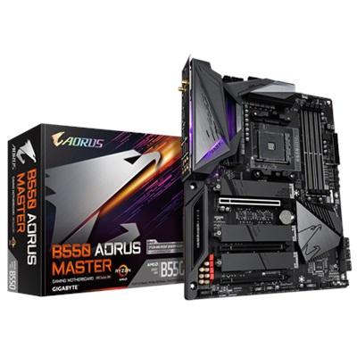 En ucuz Gigabyte B550 Aorus Master 5200mhz(OC) RGB M.2 Wi-Fi AM4 ATX Anakart Fiyatı