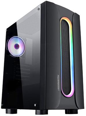 En ucuz PowerBoost VK-P3302B 500W RGB USB 3.0 ATX Mid Tower Kasa  Fiyatı