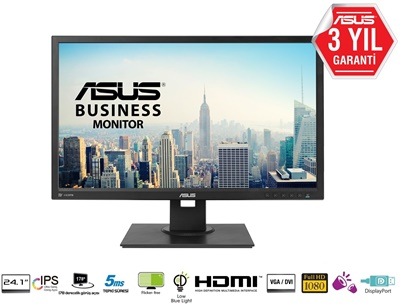 """En ucuz Asus 24"""" BE24AQLBH 5ms 60hz HDMI,D-Sub,DisplayPort,DVI-D Monitör Fiyatı"""