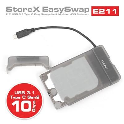 """En ucuz Dark Storex E211 2.5"""" USB 3.1 Disk Kutusu  Fiyatı"""