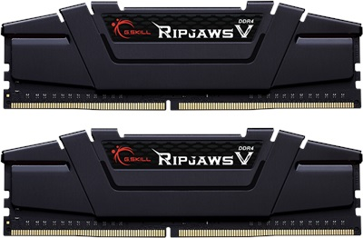 G.Skill 16GB(2x8) Ripjaws V 4600mhz CL19 DDR4  Ram (F4-4600C19D-16GVKE)