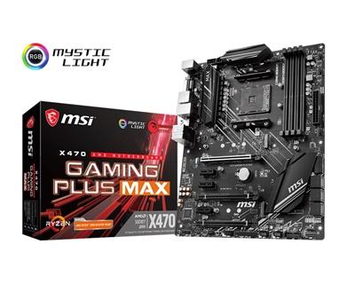 MSI X470 Gaming Plus MAX 4133mhz(OC) RGB M.2 AM4 ATX Anakart
