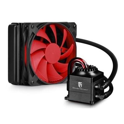 Deep Cool Captain 120 120 mm Kırmızı Fan Intel-AMD Uyumlu Sıvı Soğutucu