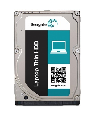 Seagate 500GB Laptop Thin 32MB 7200rpm (ST500LM023) Notebook Disk