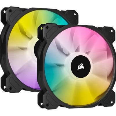 Corsair iCUE SP140 RGB Elite 140 mm Fan(2'li Set)