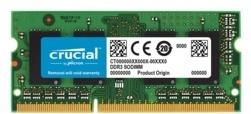 Crucial 8GB  1600mhz DDR3 Notebook Ram (CT102464BF160B)