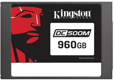 Kingston 960GB DC500M Enterprise Okuma 555MB-Yazma 525MB SATA SSD (SEDC500M/960G)