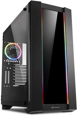 Sharkoon Elite Shark CA200G Tempered Glass RGB USB 3.0 ATX Mid Tower Kasa