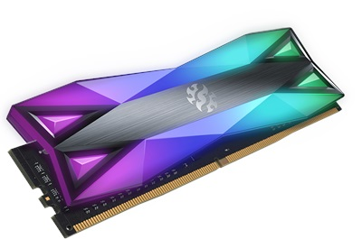XPG 16GB(2x8) Spectrix D60G RGB 3600mhz CL18 DDR4  Ram (AX4U360038G18A-DT60)