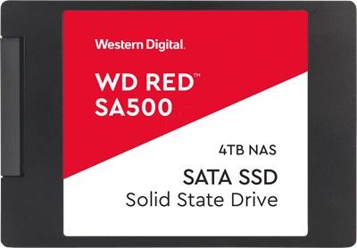 En ucuz WD 4TB SA500 Red Okuma 500MB-Yazma 500MB SATA SSD (WDS400T1R0A) Fiyatı