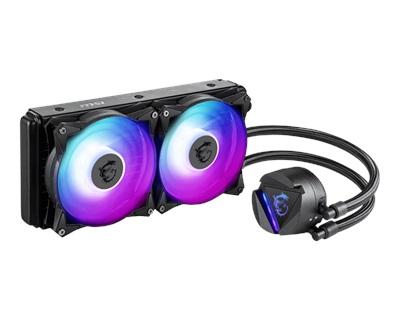 MSI MAG CoreLiquid 240R RGB 240mm Intel-AMD Uyumlu Sıvı Soğutucu
