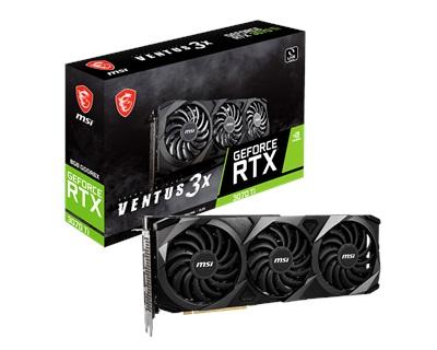 MSI GeForce RTX 3070 Ti Ventus 3X 8G 8GB GDDR6X 256 Bit Ekran Kartı