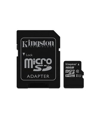 Kingston 16GB MicroSDHC Canvas Select 80MB/s Class 10 Hafıza Kartı (SDCS/16GB)