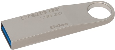 Kingston 64GB DT SE9 G2 USB 3.0 DTSE9G2/64GB USB Bellek