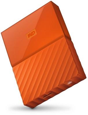 WD 4TB My Passport Turuncu USB 3.0 2,5 (WDBYFT0040BOR-WESN) Taşınabilir Disk