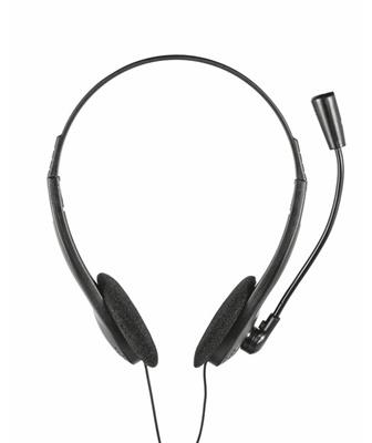 En ucuz Trust Primo Chat 21665 Siyah Kablolu Kulaklık  Fiyatı