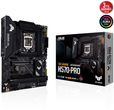 Asus TUF Gaming H570-PRO 5000mhz(OC) RGB M.2 1200p ATX Anakart