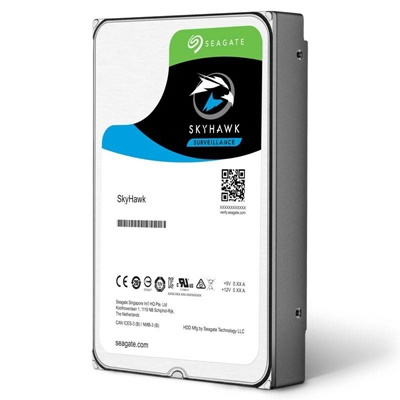 Seagate 6TB Skyhawk 256MB 7200rpm (ST6000VX0023) Güvenlik Diski