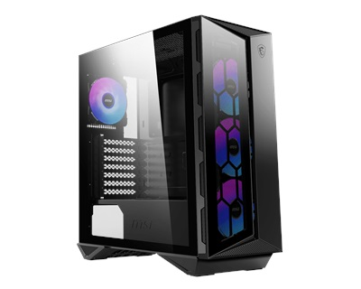 En ucuz MSI MPG Gungnir 110R RGB Tempered Glass USB 3.2 ATX Mid Tower Kasa  Fiyatı