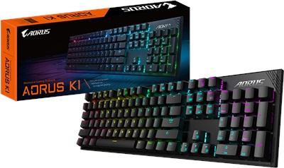 Gigabyte Aorus K1 Mekanik RGB Gaming Klavye