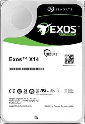 Seagate 10TB Exos X14 256MB 7200rpm (ST10000NM0478) Harddisk